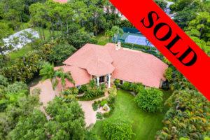 Parkland home for sale