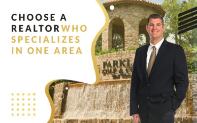 Choose a Realtor Who Specializes In One Area